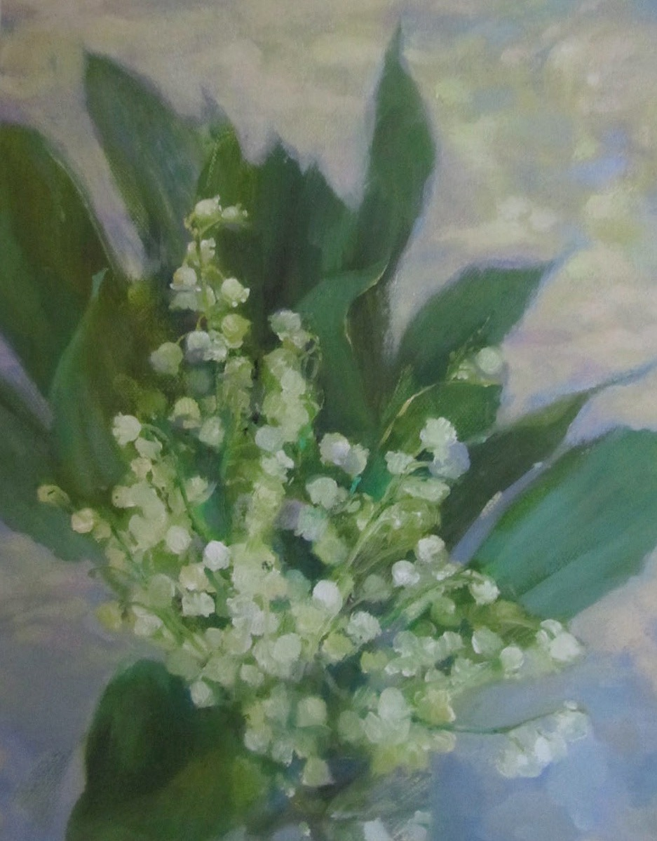 019 'Lily of the Valley' Oil on Canvas