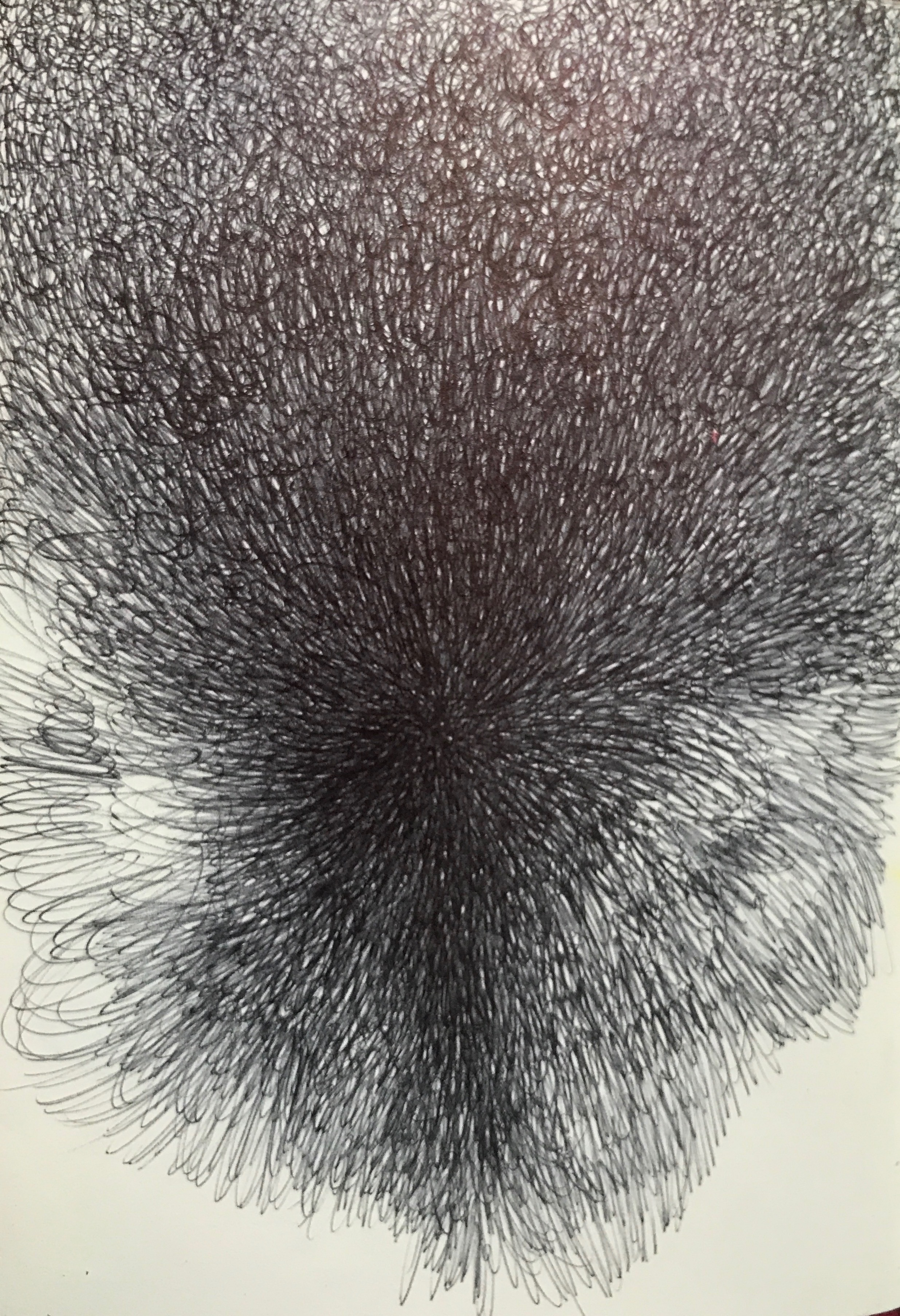 034 'Explosion' Drawing